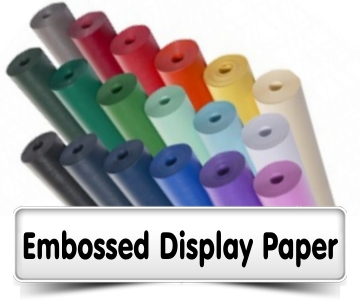Embossed Display Paper